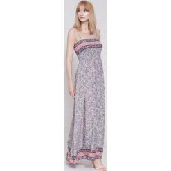 Sukienki hiszpanki: Różowa Sukienka Funny Face