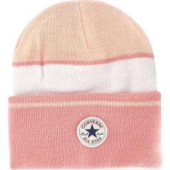 Czapka damska CONVERSE - 561424 Dusk Pink. Czerwone czapki zimowe damskie Converse, z materiału. Za 89,00 zł.