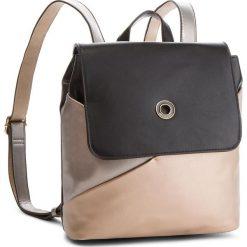 Plecak MONNARI - BAGA360-M23 Złoty Z Czarnym Ze Srebrnym. Czarne plecaki damskie marki Monnari, ze skóry ekologicznej, klasyczne. W wyprzedaży za 199,00 zł.