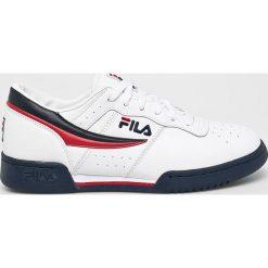 Fila - Buty Original Fitness Low. Szare buty fitness męskie Fila, z materiału, na sznurówki. W wyprzedaży za 299,90 zł.
