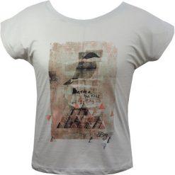 Bluzki asymetryczne: BERG OUTDOOR Koszulka damska CAMELIA biała r. L (P-10-EL5131400SS15-003-L)