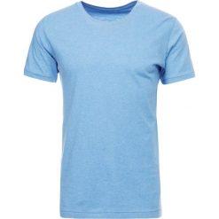 T-shirty męskie: Knowledge Cotton Apparel BASIC REGULAR FIT ONECK TEE Tshirt basic light blue melange