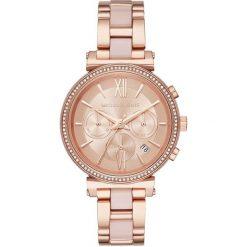 Zegarek MICHAEL KORS - Sofie MK6560 Rose Gold/Rose Gold. Czerwone zegarki damskie Michael Kors. Za 1390,00 zł.