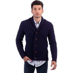 Sweter rozpinany w kolorze granatowym. Niebieskie kardigany męskie Polo Club, m, z dzianiny. W wyprzedaży za 337,95 zł.