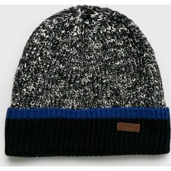 Barts - Czapka. Czarne czapki zimowe męskie marki Barts, na zimę, z bawełny. Za 99,90 zł.