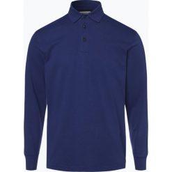 Mc Earl - Męska koszulka polo, niebieski. Niebieskie koszulki polo Mc Earl, m, z bawełny, z długim rękawem. Za 119,95 zł.