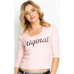 Różowa Bluzka Be Original. Czerwone bluzki damskie Born2be, s. Za 29,99 zł.