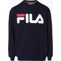 FILA - Męska bluza nierozpinana, niebieski. Niebieskie bejsbolówki męskie Fila, l, z dresówki. Za 249,95 zł.