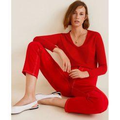 Mango - Sweter Harmon3. Różowe swetry klasyczne damskie Mango, l, z dzianiny. Za 99,90 zł.