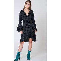 Sukienki: Neon Rose Sukienka z nadrukiem Orion Star – Multicolor,Navy