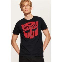 T-shirt Transformers - Czarny. Czarne t-shirty męskie House, l. Za 59,99 zł.