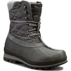 Śniegowce NAPAPIJRI - Greta 13742529 Dark Grey N88. Szare buty zimowe damskie marki Napapijri, z materiału, na niskim obcasie. W wyprzedaży za 409,00 zł.