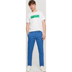 Rurki męskie: Spodnie chino skinny - Niebieski