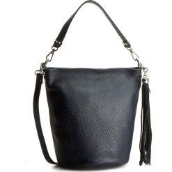 Torebka CREOLE - K10286 Granatowy. Niebieskie torebki klasyczne damskie Creole, ze skóry, duże. W wyprzedaży za 159,00 zł.