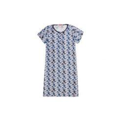 Koszulka nocna. Niebieskie koszule nocne i halki marki TXM. Za 24,99 zł.