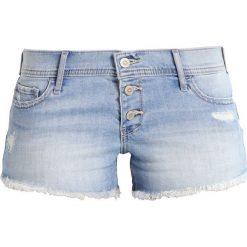 Bermudy damskie: Hollister Co. Szorty jeansowe light destroy