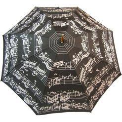 """Parasole: Parasol """"Notes"""" w kolorze czarno-białym"""