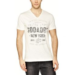 T-shirty męskie z nadrukiem: T-shirt w kolorze ecru