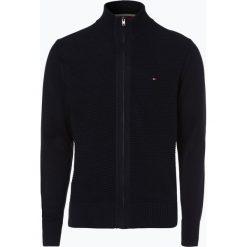 Swetry rozpinane męskie: Tommy Hilfiger - Kardigan męski – Tylor, niebieski