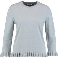 Swetry klasyczne damskie: Betty & Co Sweter smoky blue