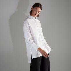 Biała koszula - Biały. Białe koszule damskie Reserved. Za 89,99 zł.