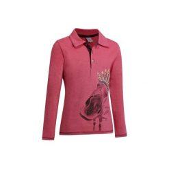 Bluzki dziewczęce: Koszulka polo Indian różowa