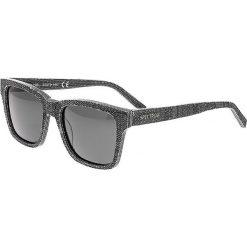 """Okulary przeciwsłoneczne męskie: Okulary męskie """"Laguna"""" w kolorze czarno-szarym"""