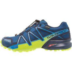 Salomon SPEEDCROSS 4 GTX Obuwie do biegania Szlak poseidon. Niebieskie buty do biegania męskie marki Salomon, z gumy, salomon speedcross. Za 699,00 zł.