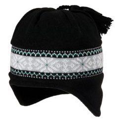 Czapki męskie: Viking Czapka Windstopper 1858 czarno-zielona (2151858UNI)