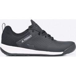 Adidas Performance - Buty Terrex Trail Cross Curb. Szare buty trekkingowe męskie adidas Performance, z gumy, na sznurówki, outdoorowe. W wyprzedaży za 269,90 zł.