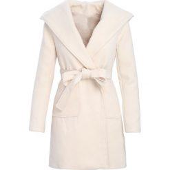 Płaszcze damskie: Beżowy Płaszcz Winter Glow