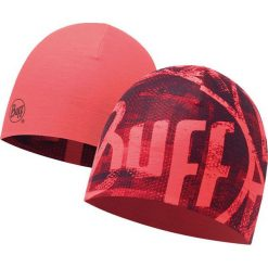 Czapki męskie: Buff Czapka Coolmax dwustronna BITA Różowa FLUOR