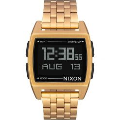 Biżuteria i zegarki damskie: Zegarek unisex Nixon Base All Gold A1107502