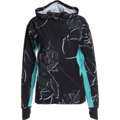 Bomberki damskie: Under Armour OUTRUN THE STORM  Kurtka do biegania black