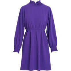 Ciemnofioletowa Sukienka She's So Cool. Fioletowe sukienki marki DOMYOS, l, z bawełny. Za 79,99 zł.
