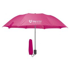 Parasole: Parasol składany MYCENTER Różowy zyskaj do 1500zł