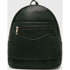 Answear - Plecak. Czarne plecaki damskie ANSWEAR, z materiału. Za 99,90 zł.