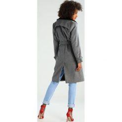 Mint&berry Płaszcz wełniany /Płaszcz klasyczny grey. Szare płaszcze damskie wełniane marki mint&berry, klasyczne. W wyprzedaży za 441,75 zł.