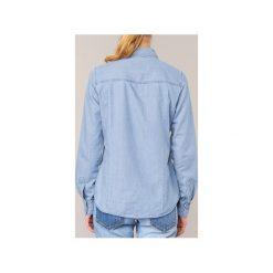 Koszule Vero Moda  DAISY. Niebieskie koszule damskie Vero Moda, l. Za 103,20 zł.