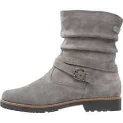 Pier One Botki grey. Szare buty zimowe damskie marki Pier One, z materiału. W wyprzedaży za 254,25 zł.