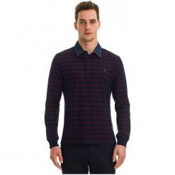 Galvanni Koszulka Polo Męska Labor L Burgund. Czerwone koszulki polo GALVANNI, l, w paski. W wyprzedaży za 189,00 zł.