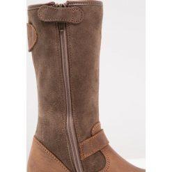 Primigi Kozaki marrone scuro. Niebieskie buty zimowe damskie marki Roxy, z tworzywa sztucznego, na wysokim obcasie. W wyprzedaży za 300,30 zł.