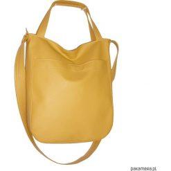 Torebki i plecaki damskie: miodowa torba na ramię, worek hobo xxl
