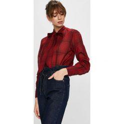 G-Star Raw - Koszula. Szare koszule wiązane damskie marki G-Star RAW, l, z bawełny, casualowe, ze stójką, z długim rękawem. Za 459,90 zł.