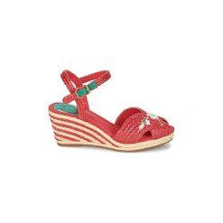 Sandały Miss L'Fire  RENEE. Czerwone sandały trekkingowe damskie Miss L'Fire. Za 335,30 zł.