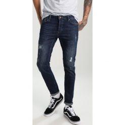 Topman FRANKIE Jeansy Slim Fit indigo. Niebieskie jeansy męskie marki Topman. W wyprzedaży za 183,20 zł.