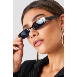 NA-KD Accessories Wąskie okulary przeciwsłoneczne - Black. Szare okulary przeciwsłoneczne damskie lenonki marki ORAO. Za 80,95 zł.