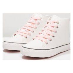 Next OLDER GIRLS Tenisówki i Trampki wysokie white. Białe trampki dziewczęce Next, z materiału. Za 169,00 zł.