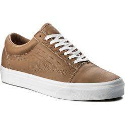 Tenisówki VANS - Old Skool VN0A38G1R0S (Leather) Tawny Brown/True White. Brązowe tenisówki męskie marki Vans, z gumy. W wyprzedaży za 279,00 zł.