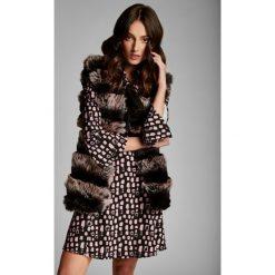 Sukienki: Czarno-Różowa Sukienka River Lose